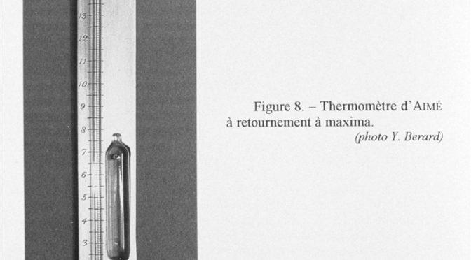 historic maximum thermometer